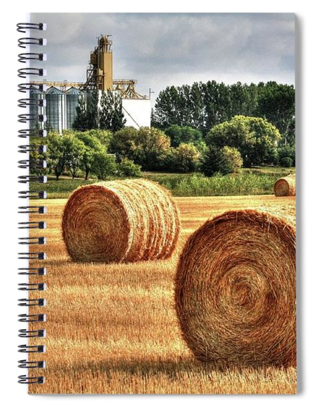 Hay Making Time Spiral Notebook