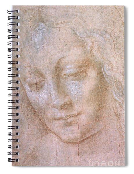 Head Of A Woman  Spiral Notebook