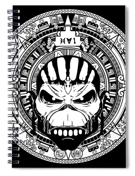 Iron Maiden Spiral Notebook