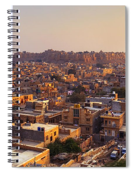 Jaisalmer - India Spiral Notebook