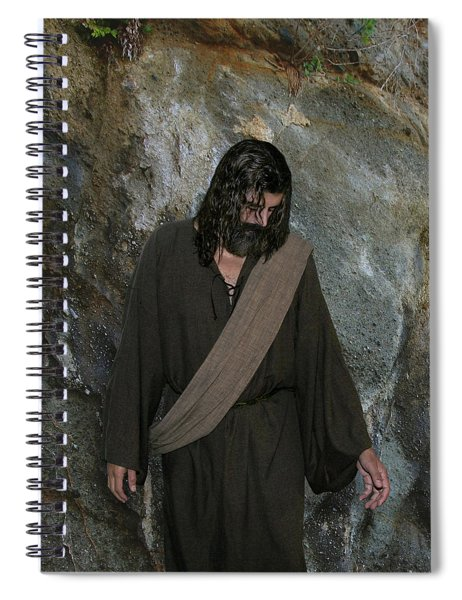 Jesus Christ- Rise And Walk With Me  Spiral Notebook