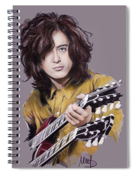 Jimmy Page 1 Spiral Notebook