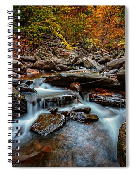 Kaaterskill Creek Spiral Notebook