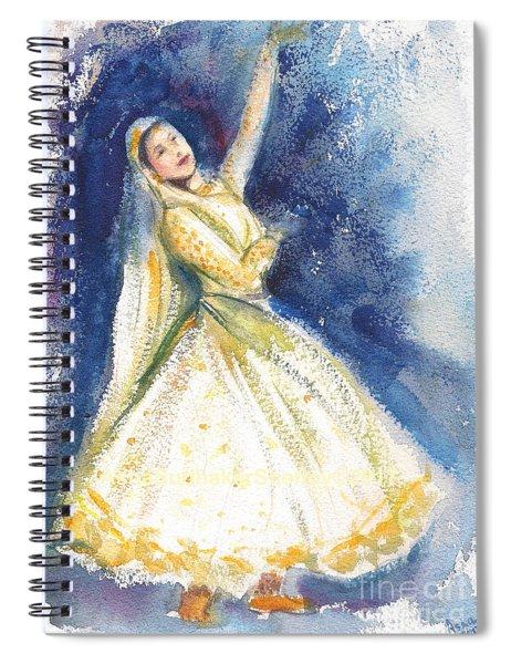 Kathak Dancer Spiral Notebook