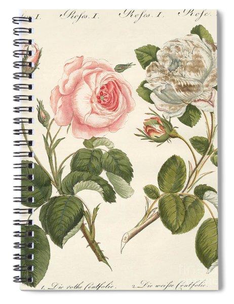 Kinds Of Roses Spiral Notebook