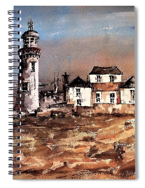 F 708 Loophead Lighthouse, Clare 2 Spiral Notebook