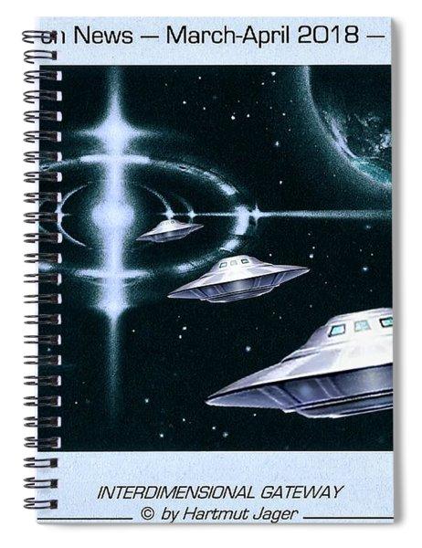 Magazine  Illustration Spiral Notebook