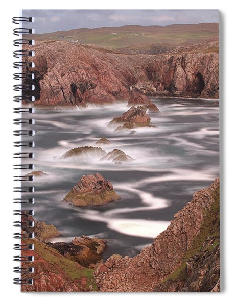 Mangersta Coastline Spiral Notebook