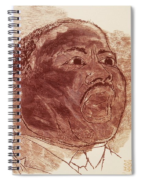 Martin Luther King, Jr Spiral Notebook