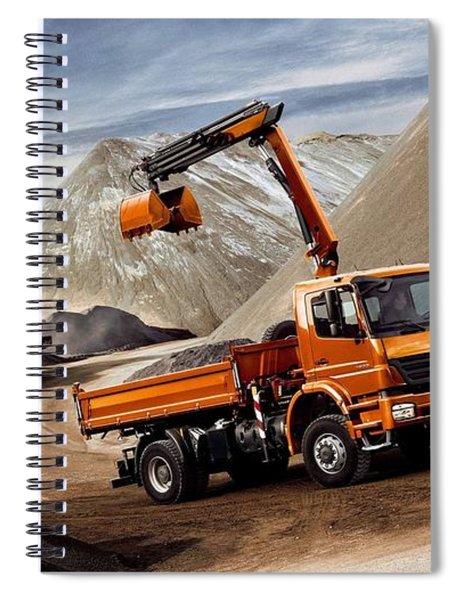 Mercedes-benz Spiral Notebook