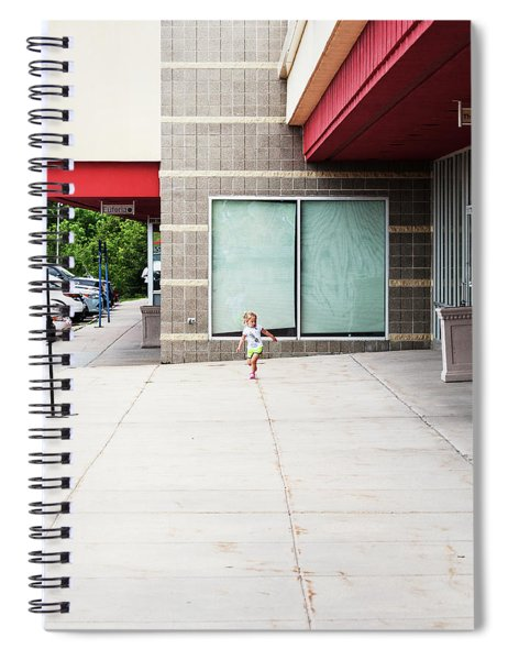 Spiral Notebook featuring the  New Upload by Edward Peterson