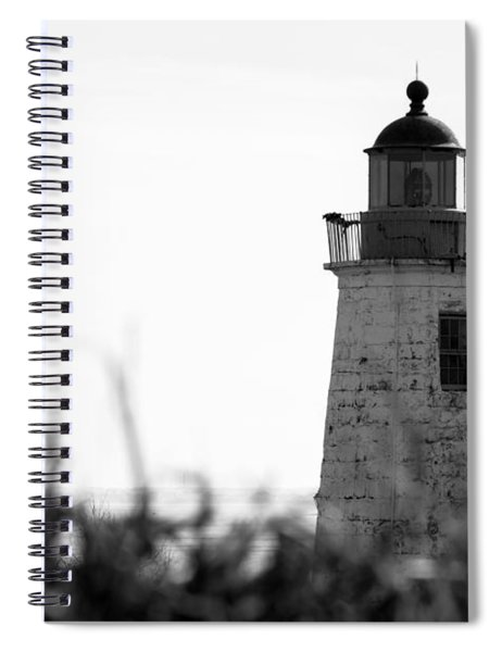 Old Point Comfort Lighthouse Spiral Notebook