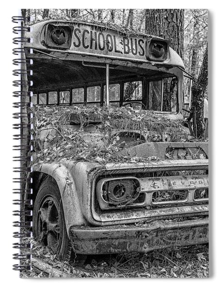 Old School Bus Spiral Notebook