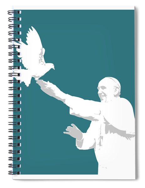 Pope Francis Spiral Notebook