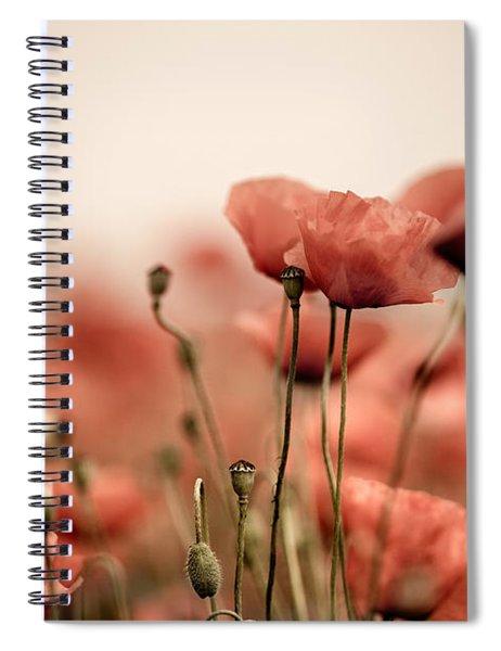 Poppy Dream Spiral Notebook