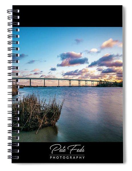 Pungo Ferry Bridge Spiral Notebook