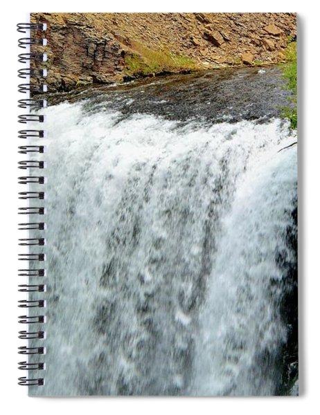 Rainbow Falls 23 Spiral Notebook