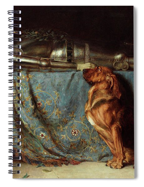 Requiescat Spiral Notebook