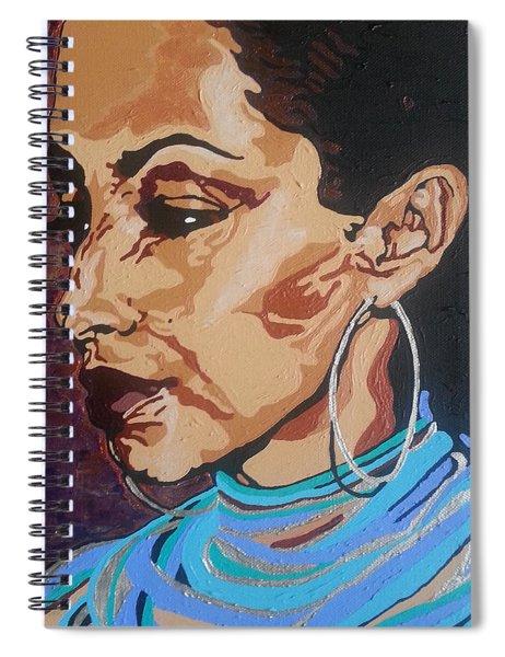 Sade Adu Spiral Notebook