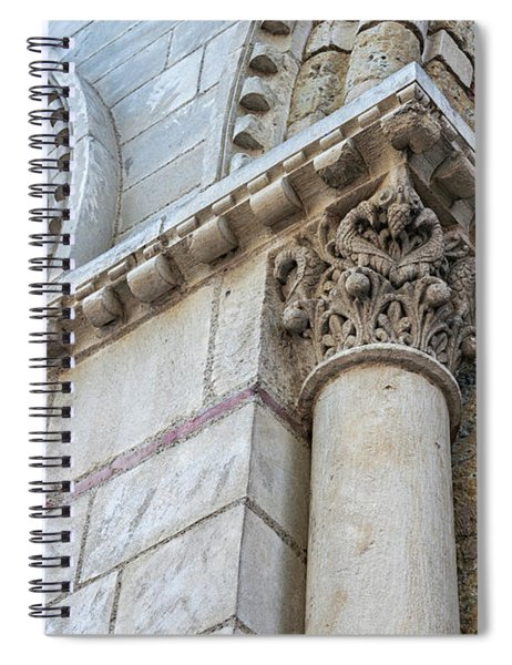 Saint Sernin Basilica Architectural Detail Spiral Notebook