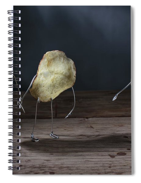 Simple Things - Potatoes Spiral Notebook