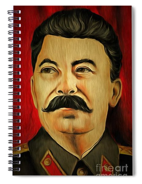 Stalin Spiral Notebook