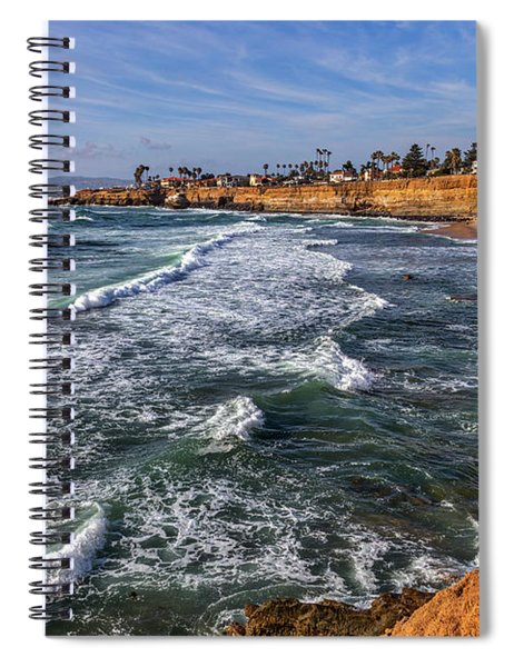 Sunset Cliffs 2 Spiral Notebook