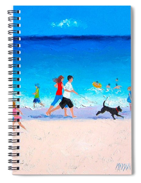 Sunshine And Summertime Spiral Notebook