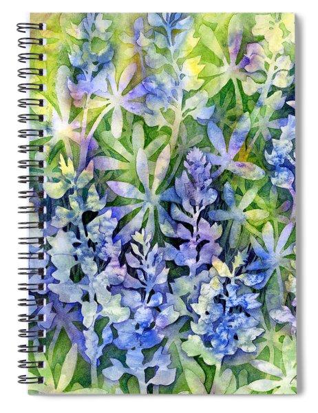 Texas Blues  Spiral Notebook