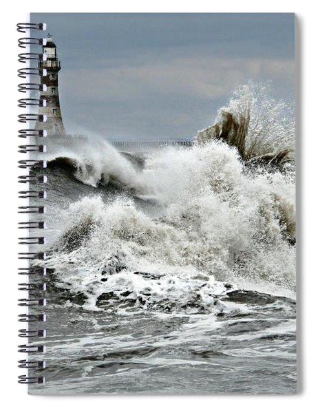 The Angry Sea Spiral Notebook