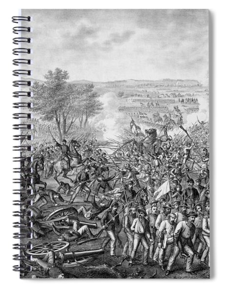 The Battle Of Gettysburg Spiral Notebook