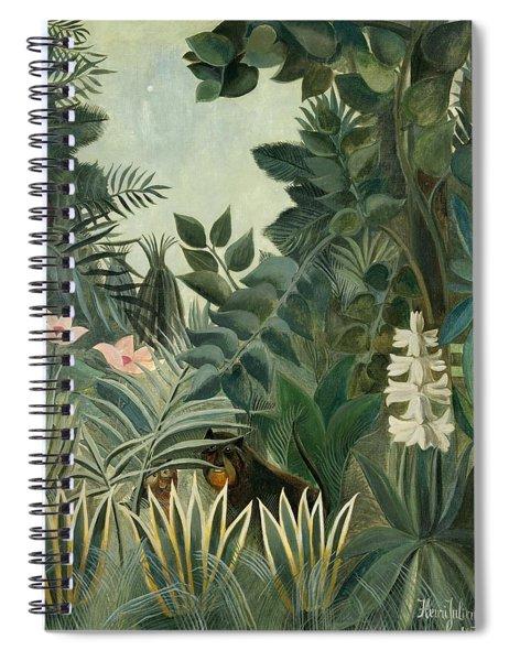 The Equatorial Jungle Spiral Notebook