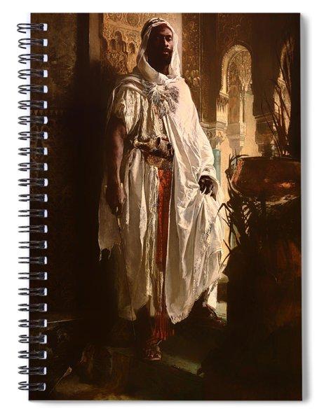 The Moorish Chief Spiral Notebook