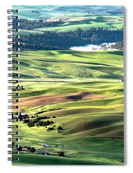The Palouse Spiral Notebook