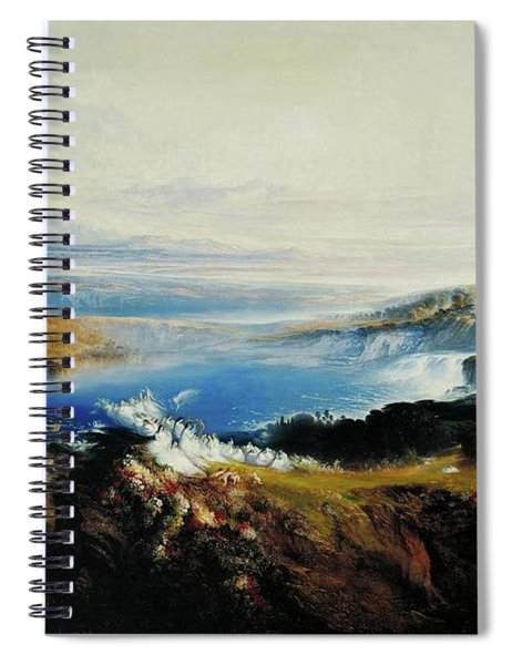 The Plains Of Heaven Spiral Notebook