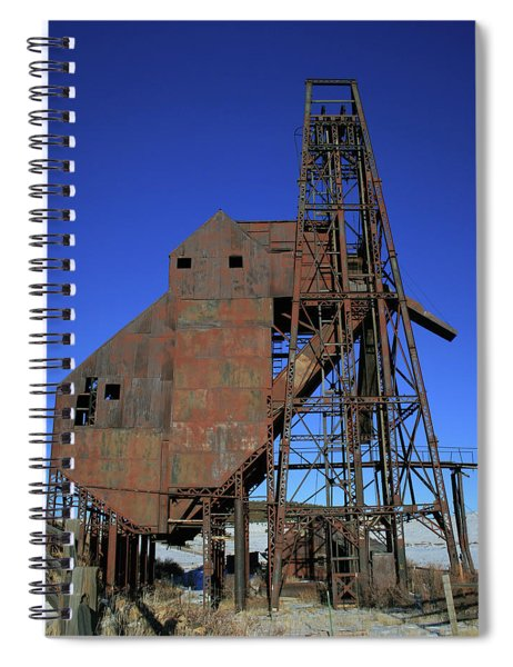 Theresa Mine Spiral Notebook