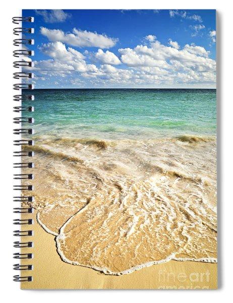 Tropical Beach  Spiral Notebook
