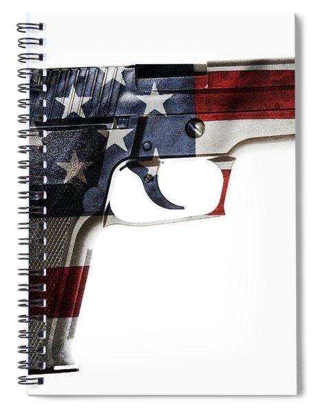 Usa Gun  Spiral Notebook