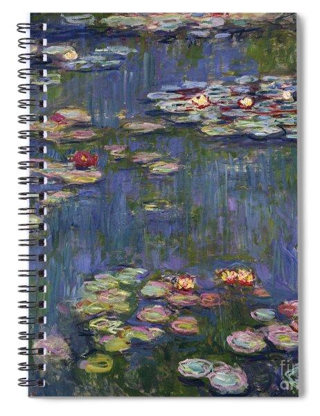 Water Lilies, 1916 Spiral Notebook