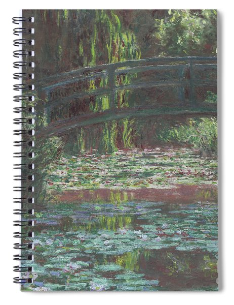 Water Lily Pond Spiral Notebook