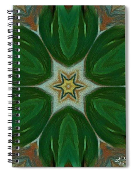 Watercolor Flower Art Spiral Notebook