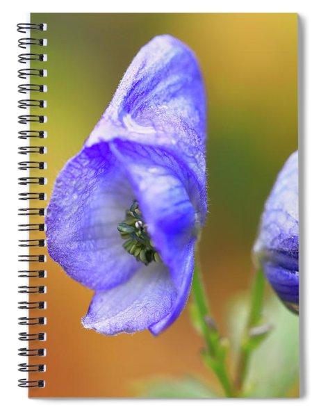 Wolf's Bane Flower Spiral Notebook