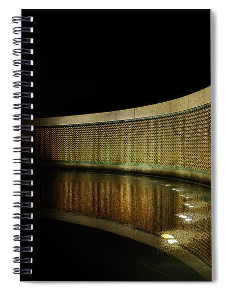 World War II Memorial - Stars Spiral Notebook