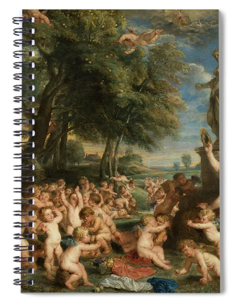 Worship Of Venus Spiral Notebook