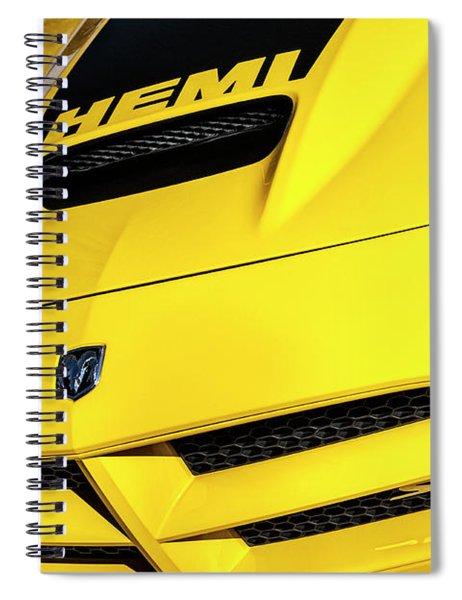 2009 Hemi Charger Srt Spiral Notebook