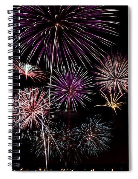 2013 Fireworks Over Alton Spiral Notebook