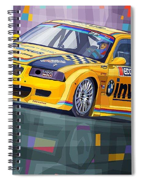 2015 Edda Cup Jested Bmw M3 E36 Liska Spiral Notebook