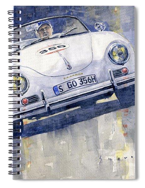 2015 Mille Miglia Porsche 356 1500 Speedster Spiral Notebook