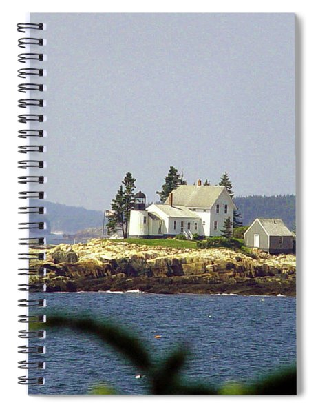2015 Winter Harbor Light Spiral Notebook