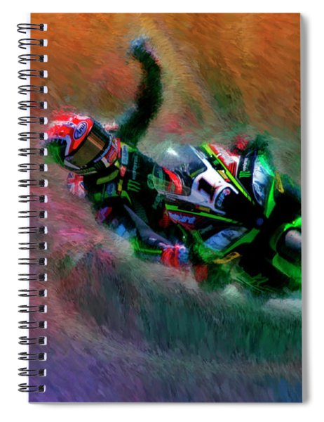 2018 World Superbike Jonathan Rea Victory Punch Spiral Notebook